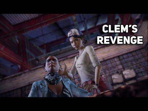 The Walking Dead: A New Frontier - CLEMENTINE KILLS AVA | CLEM'S REVENGE (Model Swap)✔