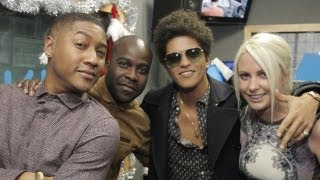 Bruno Mars interview at Kiss FM (UK)