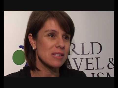 Jeanine Pires, President, Brazilian Tourist Board @ ITB 2009