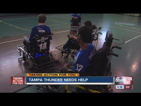 Local power wheelchair soccer team needs help to get to Nationals