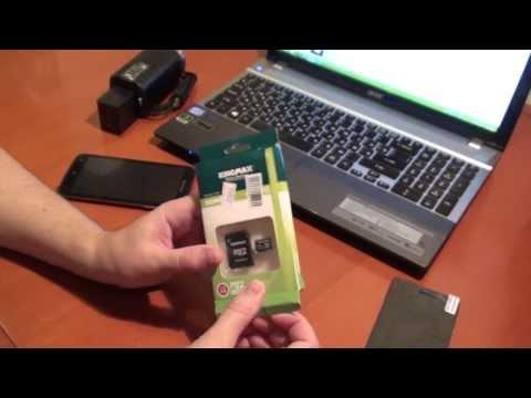 Тест MicroSD карты памяти объемом 64 ГБ
