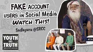 Download Lagu Fake Account Users In Social Media – Watch This! #UnplugWithSadhguru Gratis STAFABAND