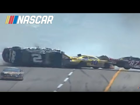 2002 Aaron's 312 30 Car Wreck at Talladega.  Officia...