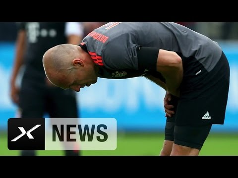Adduktoren! Bayern sechs Wochen ohne Arjen Robben | FC Bayern München