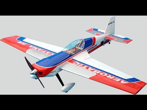 New CMP EP Katana SR RC Aerobatic Airplane