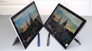 Acer Switch Alpha 12 vs  Microsoft Surface Pro 4 Comparison Smackdown