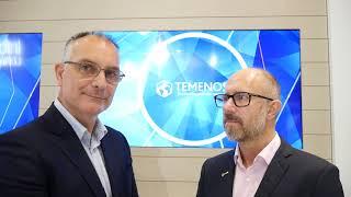 #Sibos 2018 - Talking with Adam Gable on the Temenos pavilion