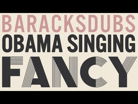 Barack Obama Singing Fancy by Iggy Azalea
