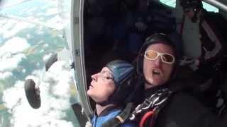 15,000 feet Tandem Skydive