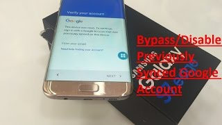 Disable | Bypass Google Account Lock on any Samsung phone
