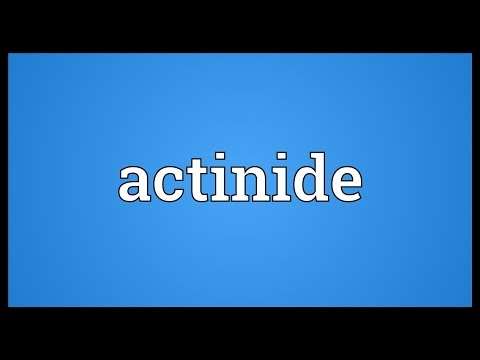 Header of actinide
