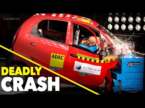 DEADLY Crash Test Tata Nano - 0 STARS