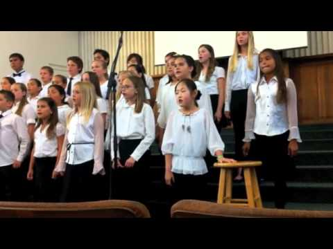 Calvary Christian School's Choir Performance 2012