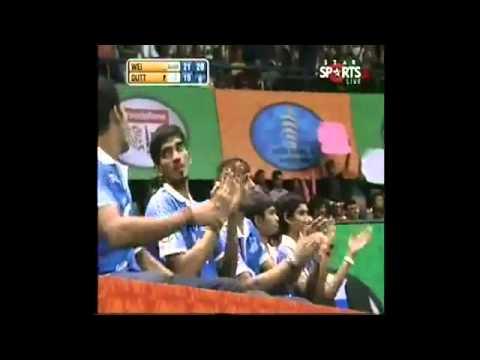 IBL 2013     Semi Final 2  Awadhe Warriors    DUTT vs  Mumbai Masters WEI