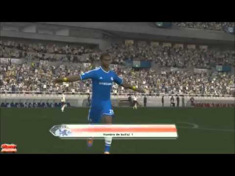Chelsea vs Fulham 3 1 All Goals and Highlights PES 01 03 2014 HD