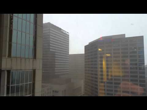 Downtown Nashville - Nearby Lightning Strike