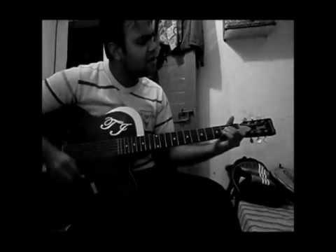 Mere Rang Mein Rangne Wali On Guitar