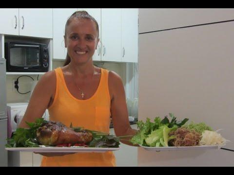 ХРУСТЯЩАЯ РУЛЬКА рецепт Свиная РУЛЬКА в пиве по Баварски ВЕПРЕВО КОЛЕНО  Rulka Bavaria Pork recipes