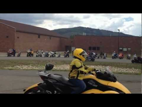CMA 2012 Colorado Rally Awesome riding in the Rocky Mountains and Granby!