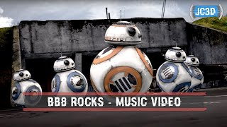 BB8 cgi dance with other BB units at the Resistance Base