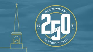 Worship with us! Livestream of February 14, 2021- 250th Anniversary Monthly Celebration - February