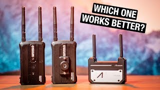 Wireless Video Transmitter Comparison - Hollyland Mars 300 vs Accsoon Cineeye