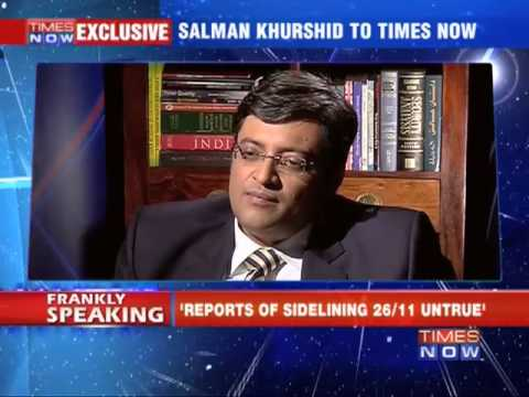 Frankly Speaking with Salman Khurshid - Part 4
