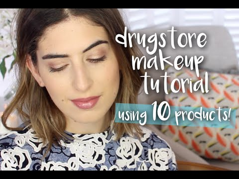 Affordable Drugstore Makeup Look | Lily Pebbles