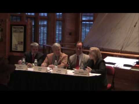 Gillibrand in Blue Mountain Lake October 30, 2009 part 2