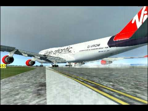 FSX Virgin Atlantic 747-400