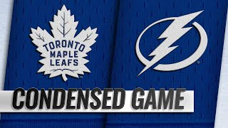 01/17/19 Condensed Game: Maple Leafs @ Lightning
