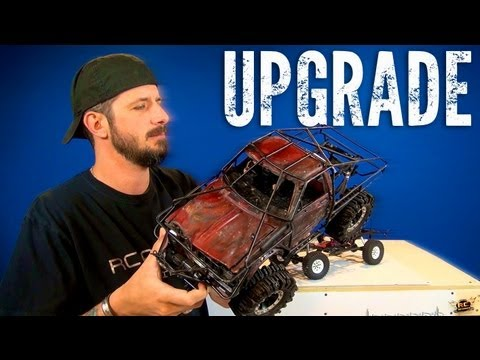RC ADVENTURES - RC4WD Trail Finder 2 - Toyota Hilux Scale Trail 4x4 Truck Upgrade Video PT 1