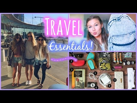What's In My Carry-On Bag // Travel Essentials