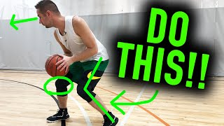 The Secret Key to the Pros First Step | Basketball Scoring Tips