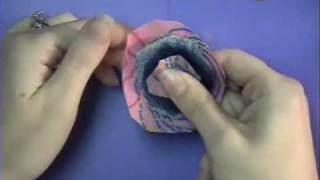 Fabric Flower Headband #2.wmv