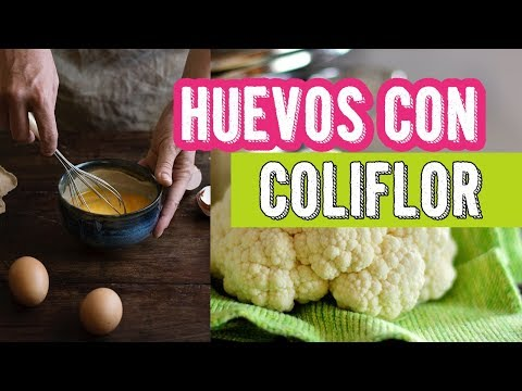 Desayuno Saludable♥Coliflor con Huevo♥Las Recetas de Laura♥Recetas para dietas