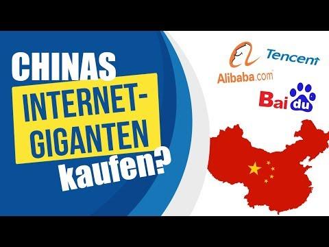 Chinas Internet-Giganten kaufen? (Alibaba, Baidu und Tencent)