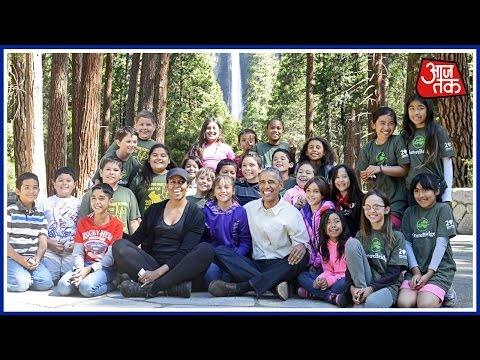 Barack Obama's Weekend With Family In National Park
