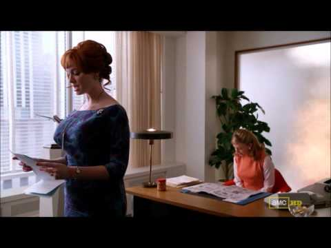 "Mad Men: Joan ""Surprise! There's an Airplane here to see you!"""