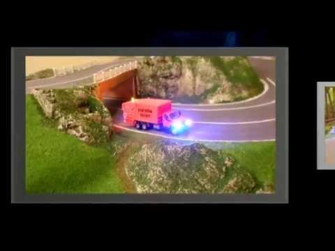 Car System HO GMC Garbage Truck