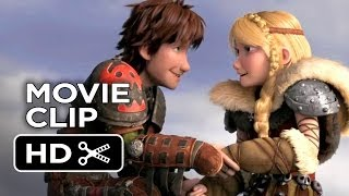 How To Train Your Dragon 2 Movie CLIP - Hiccup & Astrid (2014) - Gerard Butler Sequel HD