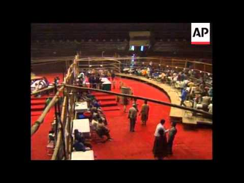 INDIA: VOTE COUNTING BEGINS IN PARLIAMENTARY ELECTIONS