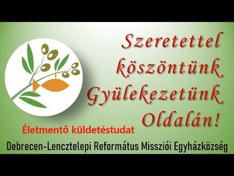 Életmentő küldetéstudat - Online Istentisztelet 2020. május 10.