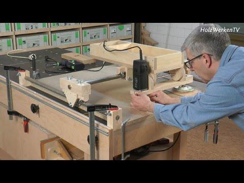 Die HolzWerken-Kopierfräse - das sind ihre Talente
