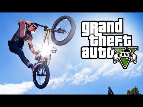 GTA 5 AMAZING BMX STUNT MONTAGE!