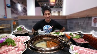 Spicy Chinese Hot Pot Experience! Authentic Hot Pot at Chinatown Singapore