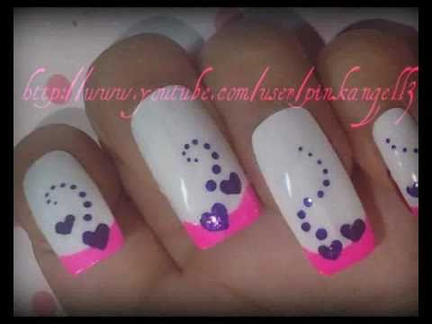 ♥very simple 3 colors nailart design ♥ request from MaddiLoveU