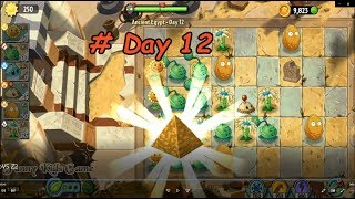 Plant Vs Zombie 2 💖Ancient Egypt - Day 12 💖Funny game Kids