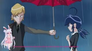 """Umbrella Scene PV Version"" Miraculous Ladybug Comic Dub"