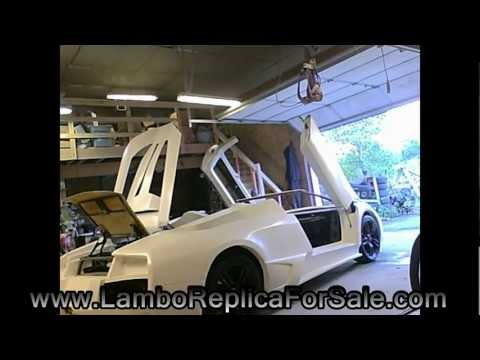 LP640 Lamborghini Murcielago Replica Kit Car Project Update: Door Poppers. Engine Sound